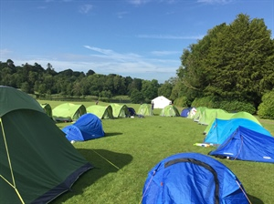 News from Yr 8 Camp at Ashburnham Place